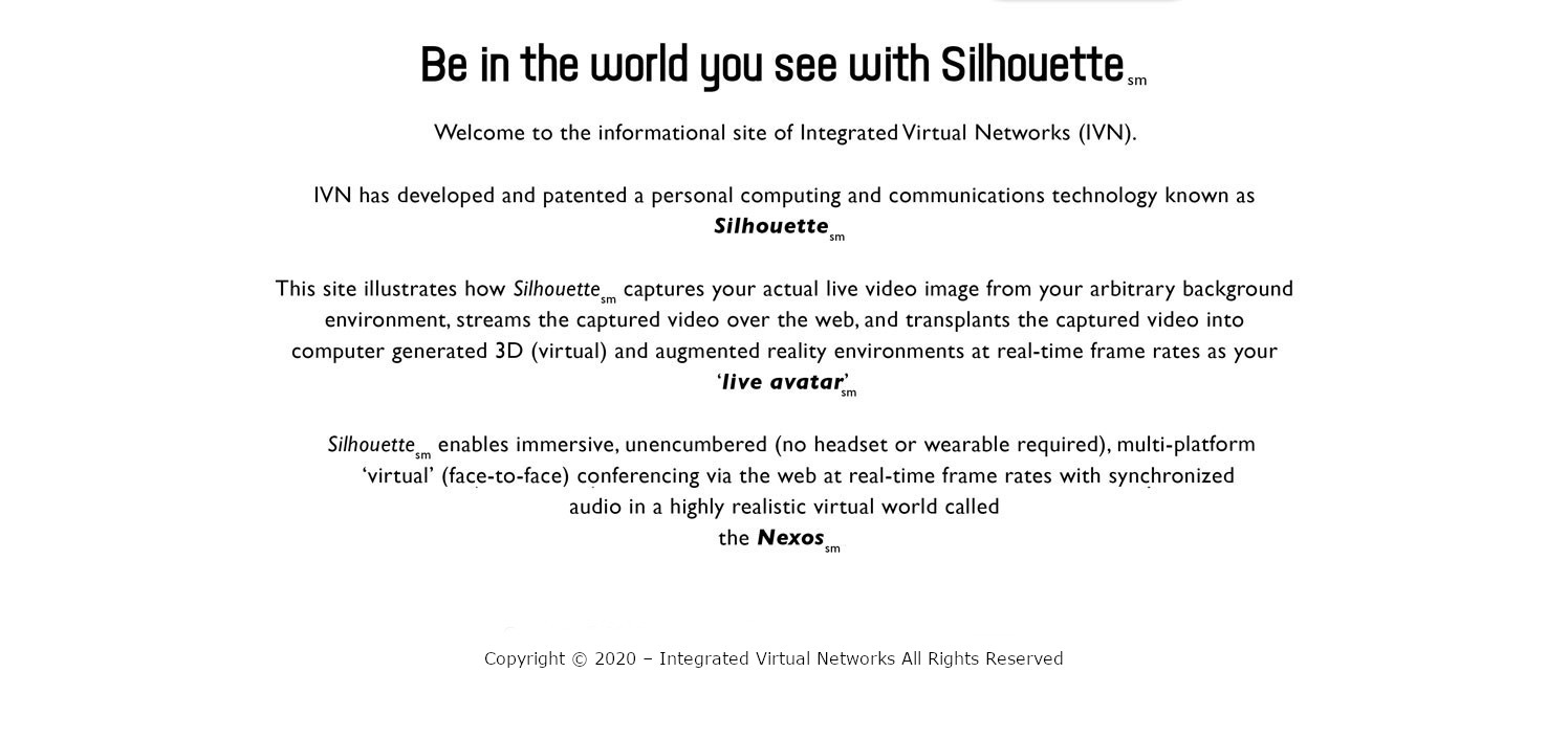 IVN Silhouette Technology